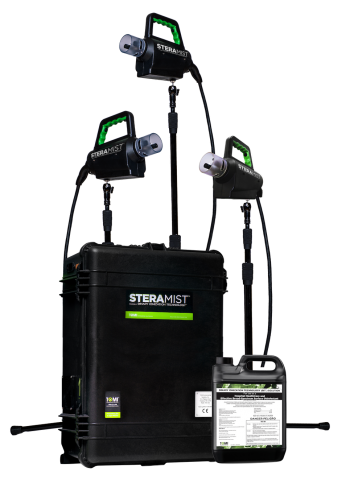 steramist environment system for Coronavirus facility disinfecting
