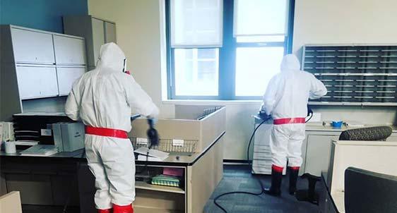 Coronavirus Cleaning Crew