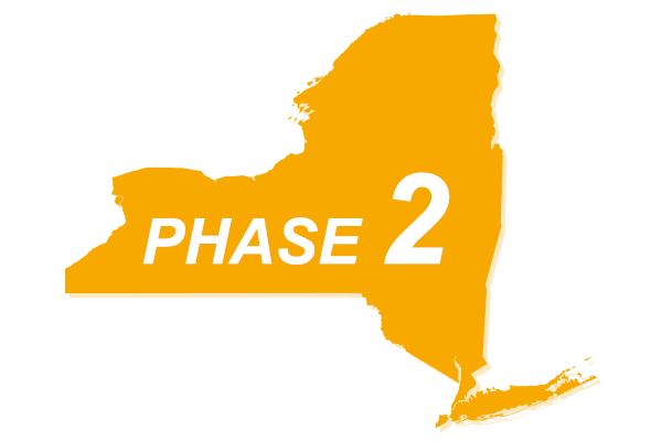 New York Phase 2 Reopening