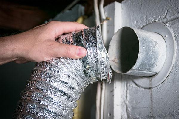 Poor Dryer Ventilation