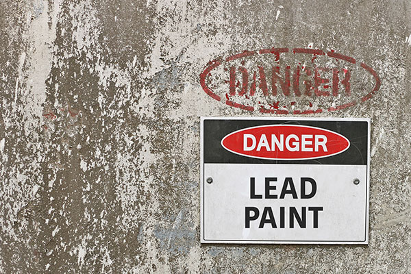 Danger: Lead-based paint rochester NY