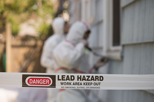 Lead Hazard - Keep Out