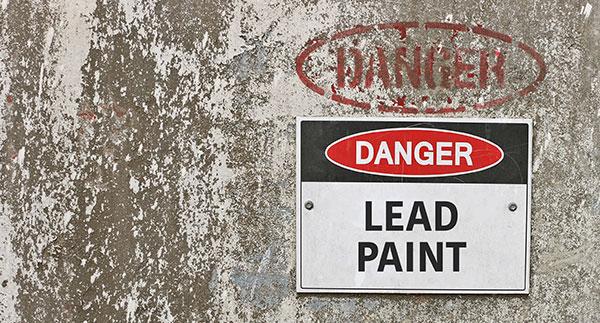 Danger - Lead Paint